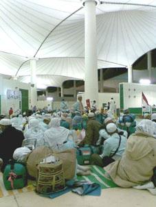 Menunggu di bandara King Abd Aziz
