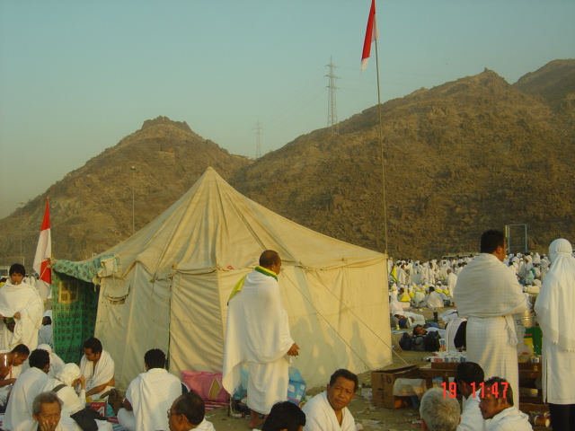 Posko Kandaker Mekah di Musdalifah